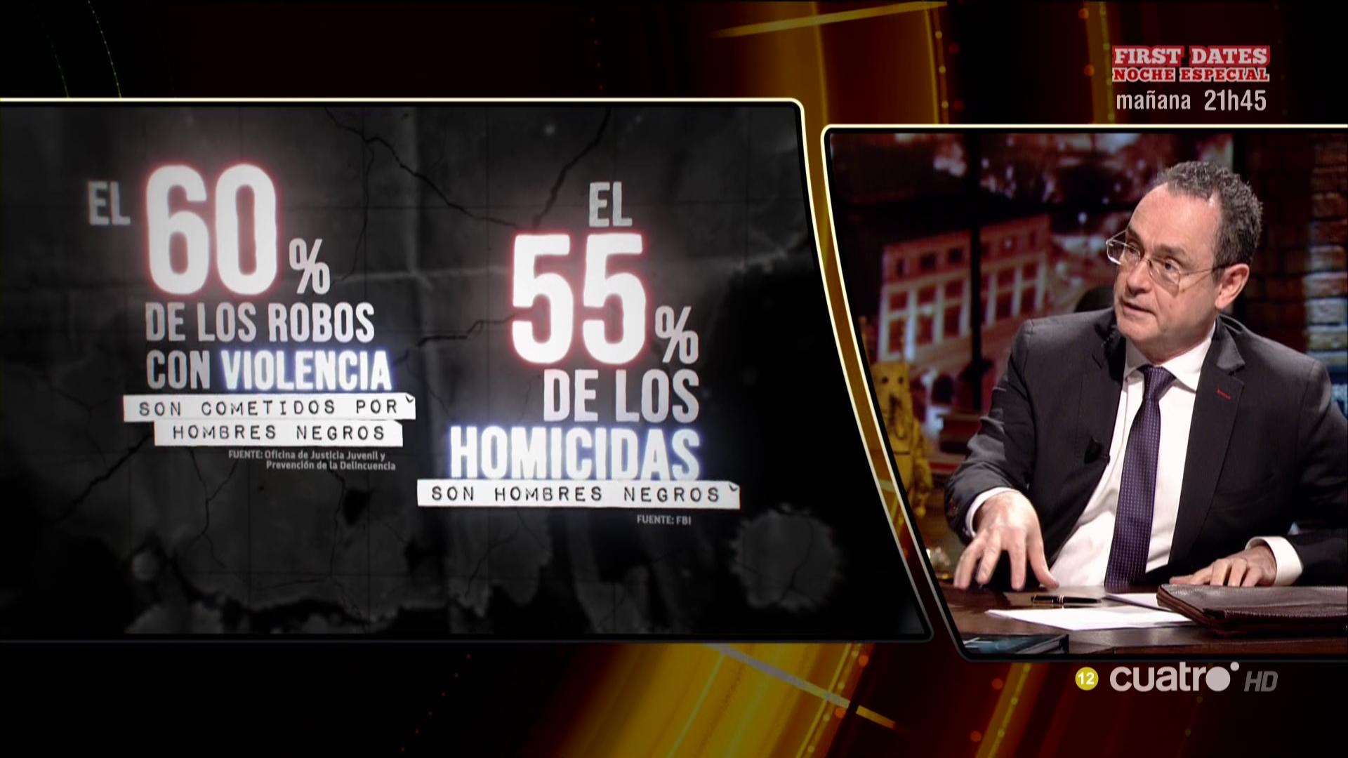 """Visto en Cuarto Milenio: """"El 60% de los robos con ..."""